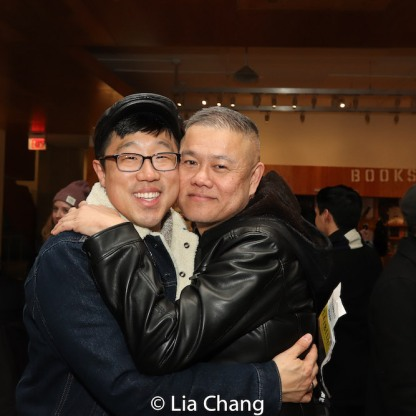 Raymond J. Lee and Chay Yew. Photo by Lia Chang