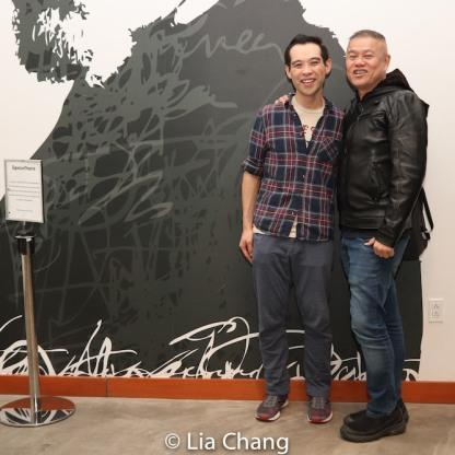 Joe Ngo and Chay Yew. Photo by Lia Chang