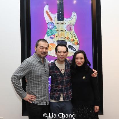 David Shih, Joe Ngo and Tina Chilip. Photo by Lia Chang