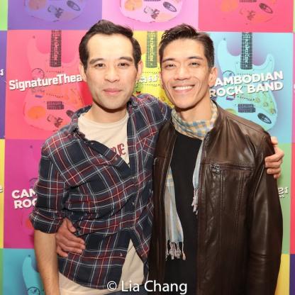 Joe Ngo and Moses Villarama. Photo by Lia Chang