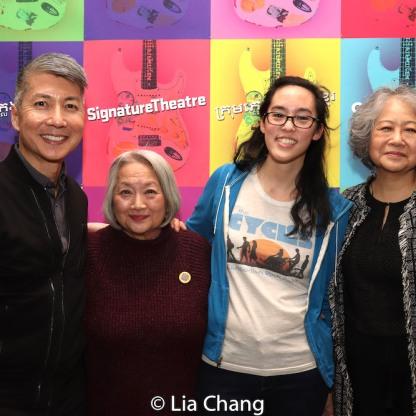 Jason Ma, Virginia Wing, Lauren Yee and Jo Yang. Photo by Lia Chang