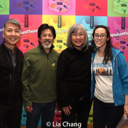 Jason Ma, Tony Jee, June Jee and Lauren Yee. Photo by Lia Chang