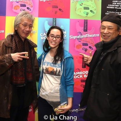 Geoff Lee, Lauren Yee and Vic Huey. Photo by Lia Chang