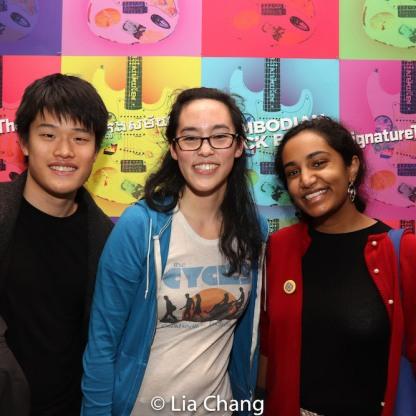 Skyler Chin, Lauren Yee and Sita Sunil. Photo by Lia Chang