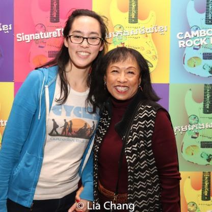 Lauren Yee and Baayork Lee. Photo by Lia Chang