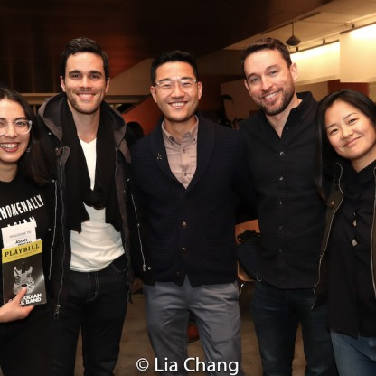 Kim Blanck, Ryan-James Hatanaka, Daniel K. Isaac, Chad Reed and Shannon Tyo. Photo by Lia Chang