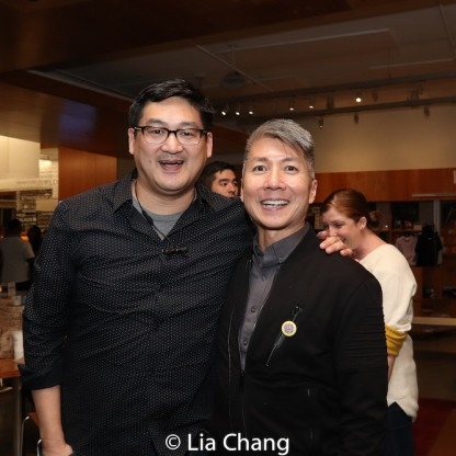 Timothy Huang and Jason Ma. Photo by Lia Chang