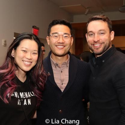 Jeena Yi, Daniel K. Isaac and Chad Reed. Photo by Lia Chang