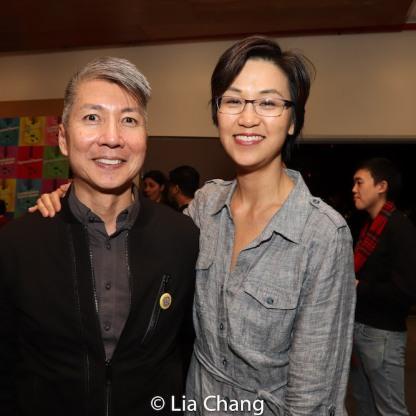 Jason Ma and Cindy Cheung. Photo by Lia Chang