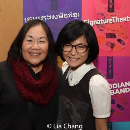 Emily Kuroda and Keiko Agena. Photo by Lia Chang