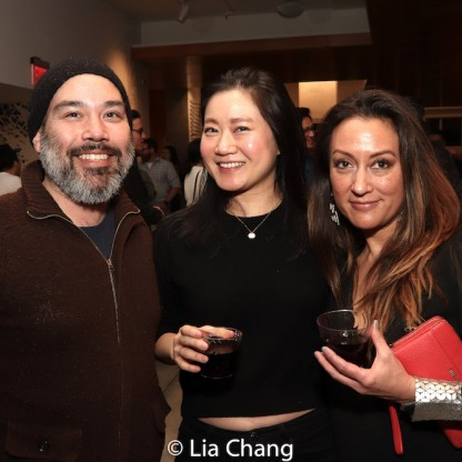 Chris Kam, Tabitha Lee and Jinlen Victoria Silva. Photo by Lia Chang