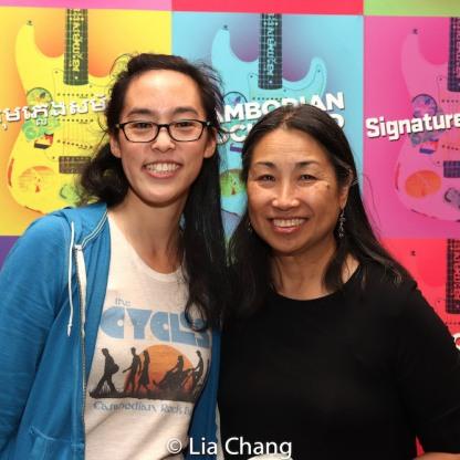 Lauren Yee and Linda Chin Workman. Photo by Lia Chang