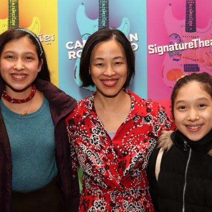 Avelina Sanchez, Lia Chang and Isabela Sanchez. Photo by Lainie Sakakura