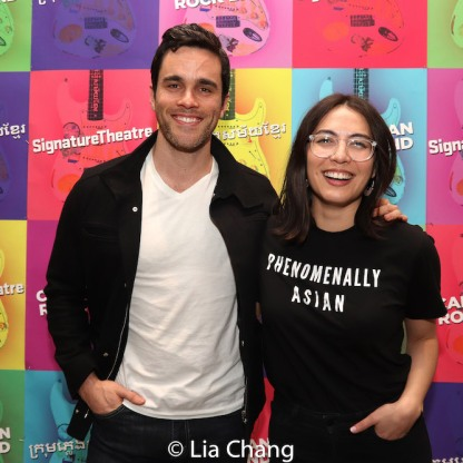 Ryan-James Hatanaka and Kim Blanck. Photo by Lia Chang
