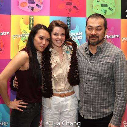 Kimberley Wong and David Shih. Photo by Lia Chang