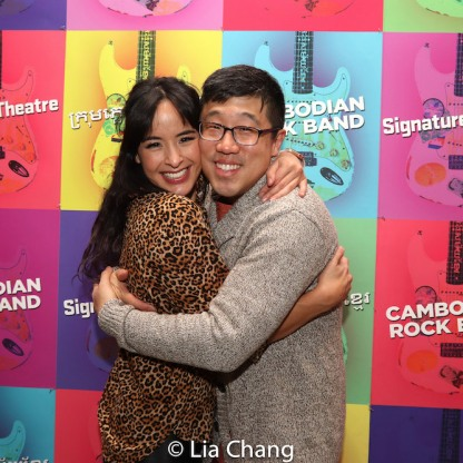 Courtney Reed and Raymond J. Lee. Photo by Lia Chang