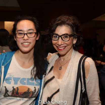 Lauren Yee and Lisa Gold. Photo by Lia Chang