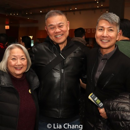 Virginia Wing, Chay Yew and Jason Ma. Photo by Lia Chang