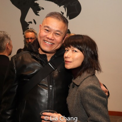 Chay Yew and Julienne Hanzelka Kim. Photo by Lia Chang