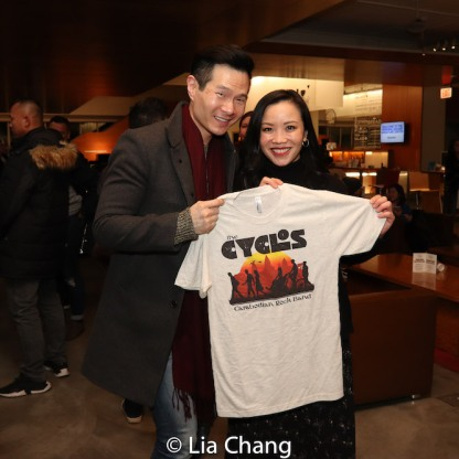 James Seol and Tina Chilip. Photo by Lia Chang