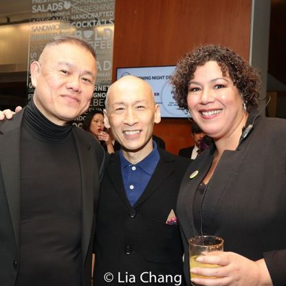 Chay Yew, Francis Jue. Photo by Lia Chang