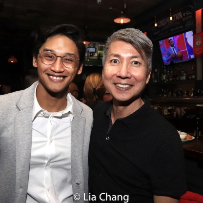 Josh Dela Cruz and Jason Ma. Photo by Lia Chang