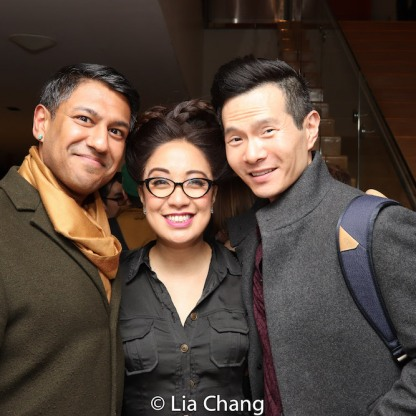 Vishal Vaidya, Jaygee Macapugay, James Seol. Photo by Lia Chang