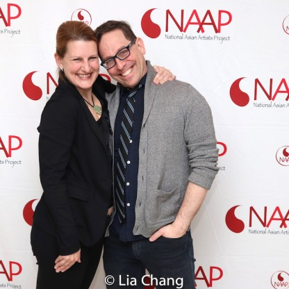 Kristin Lee Rosenfeld and Garth Kravits. Photo by Lia Chang