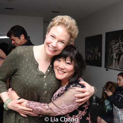 Jennifer Barnhart and Ann Harada. Photo by Lia Chang