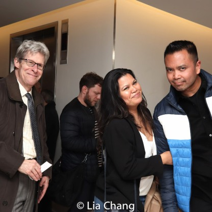 Ted Chapin, Liz Casasola, Jose Llana. Photo by Lia Chang