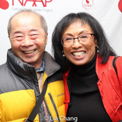 Larry Lee and Baayork Lee. Photo by Lia Chang