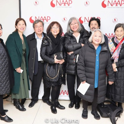 Linda Lew Woo, Nancy Yao Maasbach, Victor Kan, Lucy Kan, June Jee, Tony Jee, Virginia Wing, Wai Ching Ho. Photo by Lia Chang
