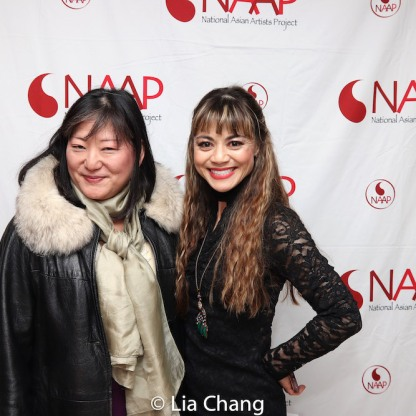 Karin Kawamoto and Kimbirdlee Fadner. Photo by Lia Chang
