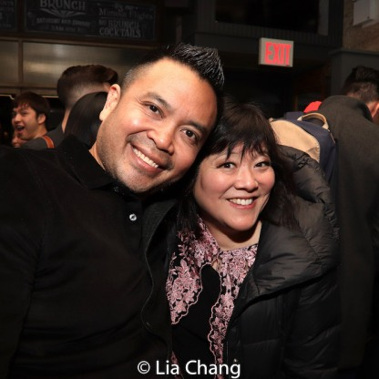 Jose Llana and Ann Harada. Photo by Lia Chang
