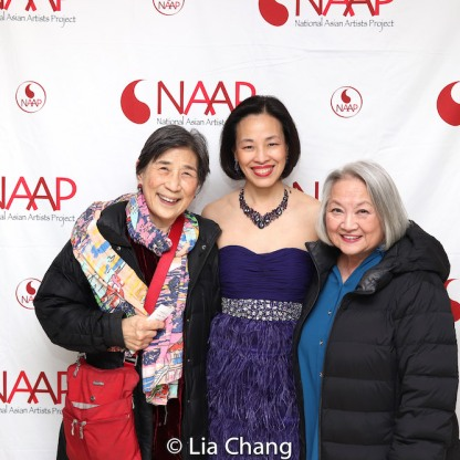 Wai Ching Ho, Lia Chang, Virginia Wing. Photo by Garth Kravits