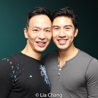 Andrew Cheng, Devin Ilaw. Photo by Lia Chang