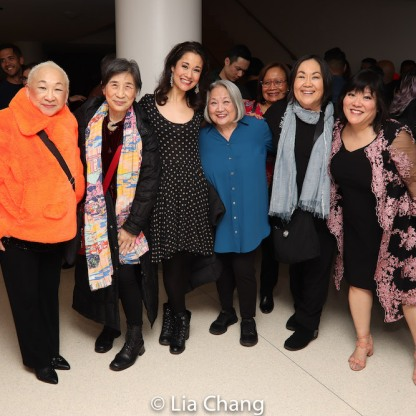 Lori Tan Chinn, Wai Ching Ho, Ali Ewoldt, Virginia Wing, Emily Kuroda, Ann Harada. Photo by Lia Chang