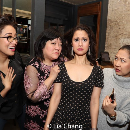 Jaygee Macapugay, Ann Harada, Ali Ewoldt and Kendyl Ito. Photo by Lia Chang