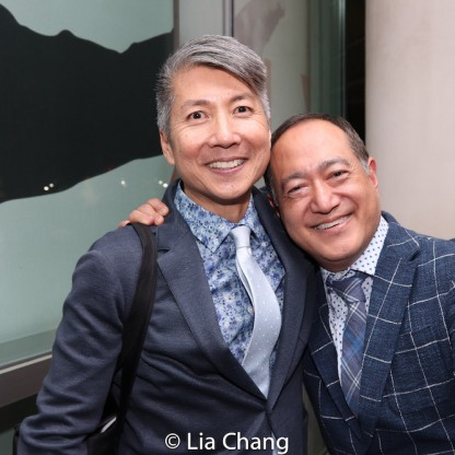 Jason Ma and Alan Muraoka. Photo by Lia Chang