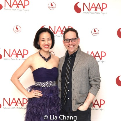 Lia Chang and Garth Kravits. Photo by Alex Chester