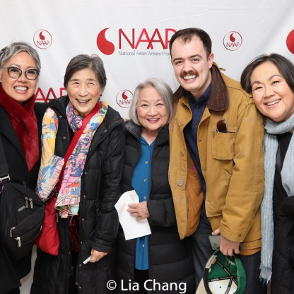 Nina Zoie Lam, Wai Ching Ho, Matt DaSilva, Emily Kuroda. Photo by Lia Chang